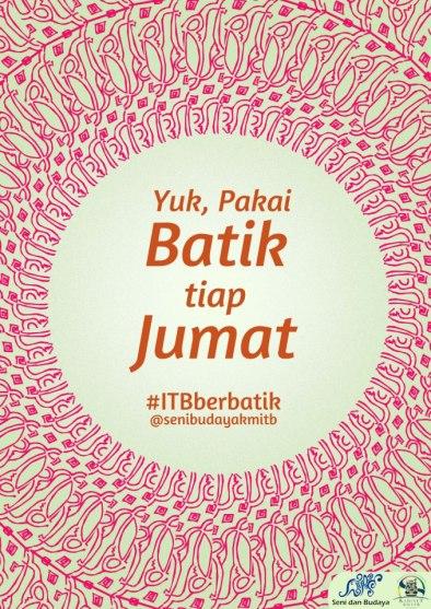 A poster from Keluarga Mahasiswa ITB.