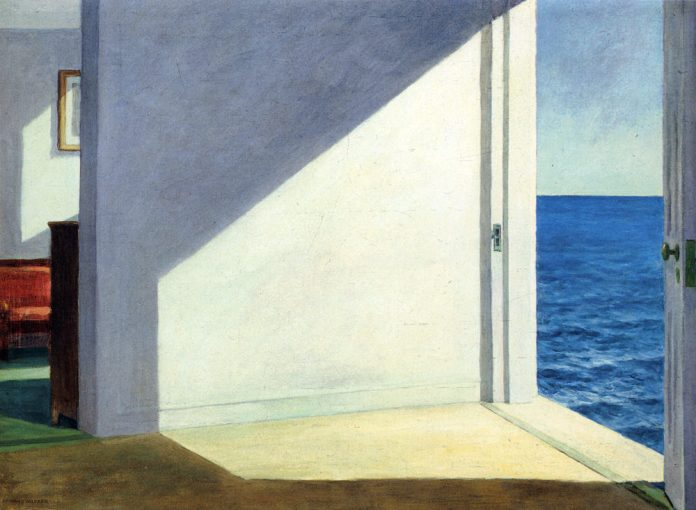 Artist: Edward Hopper, American, 1882–1967 Rooms by the Sea 1951 Oil on canvas 74.3 x 101.6 cm (29 1/4 x 40 in.) Bequest of Stephen Carlton Clark, B.A. 1903